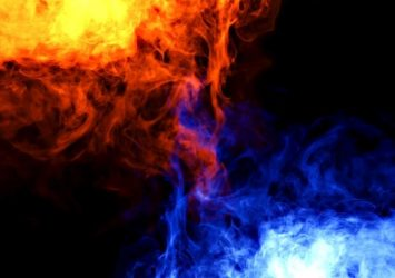 Fire and Ice background smaller